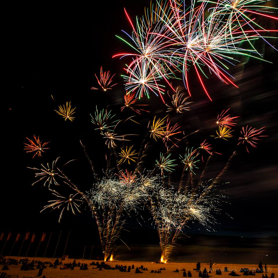 Feu d'artifice à Ostende